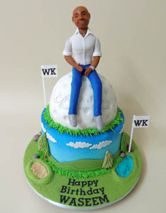Cake for Fathers Day - D Cake Creations