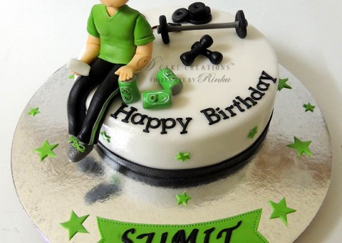 Cake Designs For Gym Lovers : Cake for men Archives - D Cake Creations