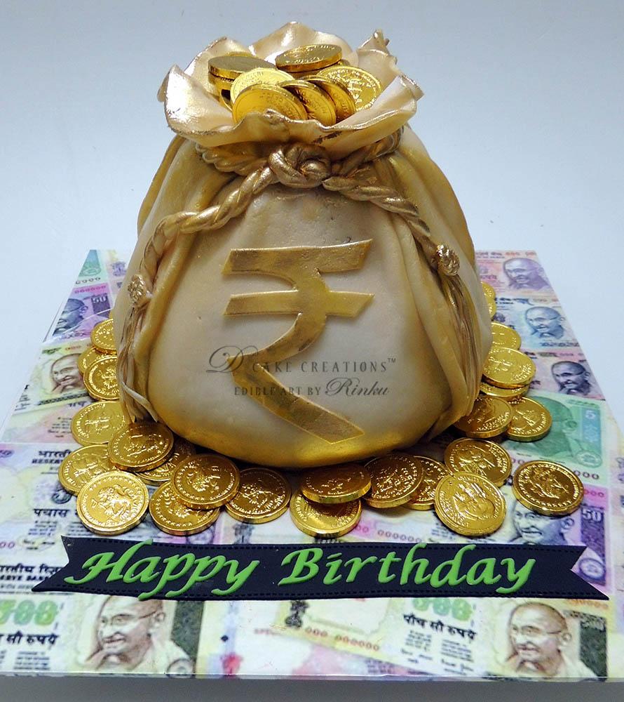 Money Bag Cake D Cake Creations