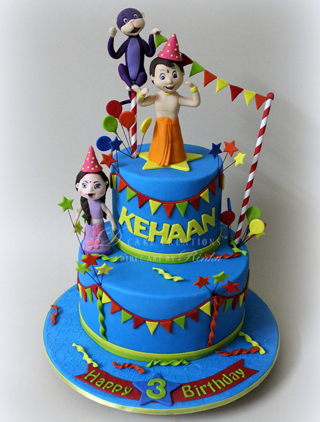 Birthday Cake Images Chota Bheem ~ Cake for boys archives d creations