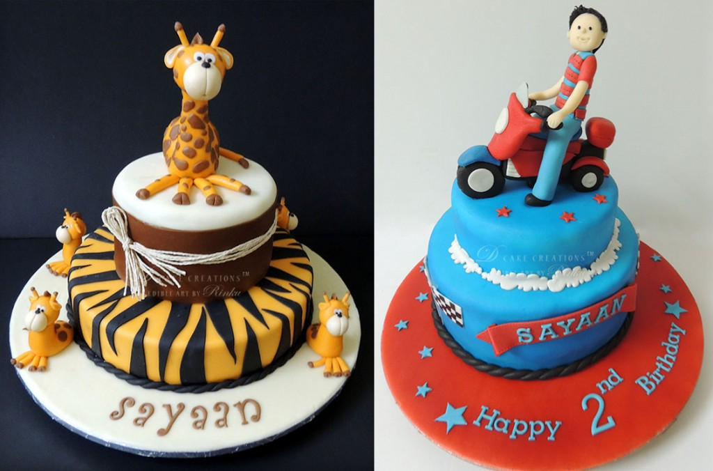 Giraffe Cake | Bike Cake