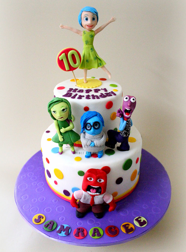 Image result for inside out cake ideas