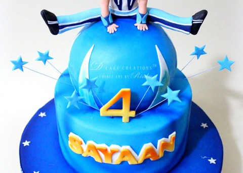 Sportacus Birthday Cake