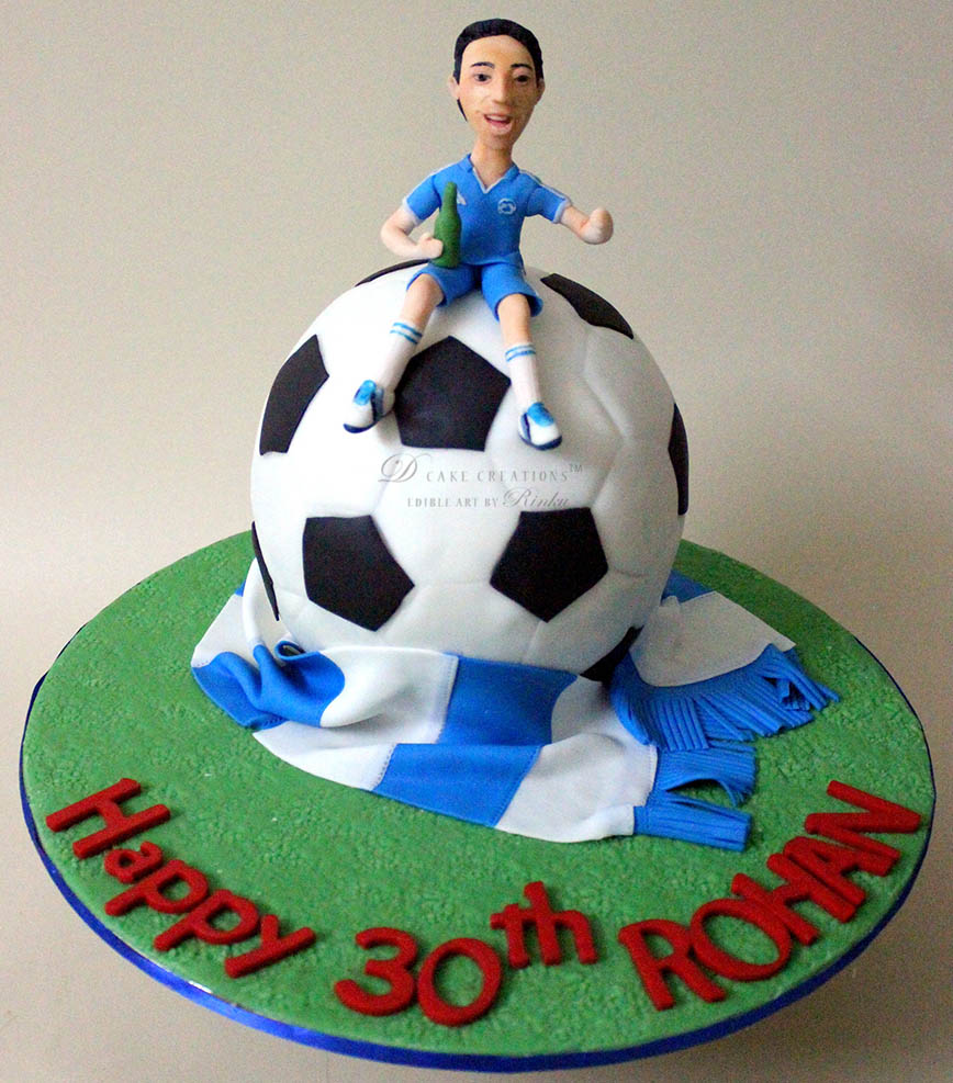 Chelsea F.C. Fan Cake