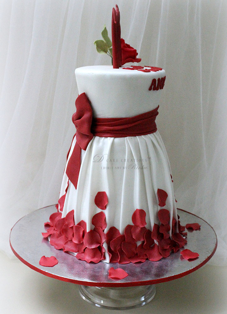 Birthday Dress Cake