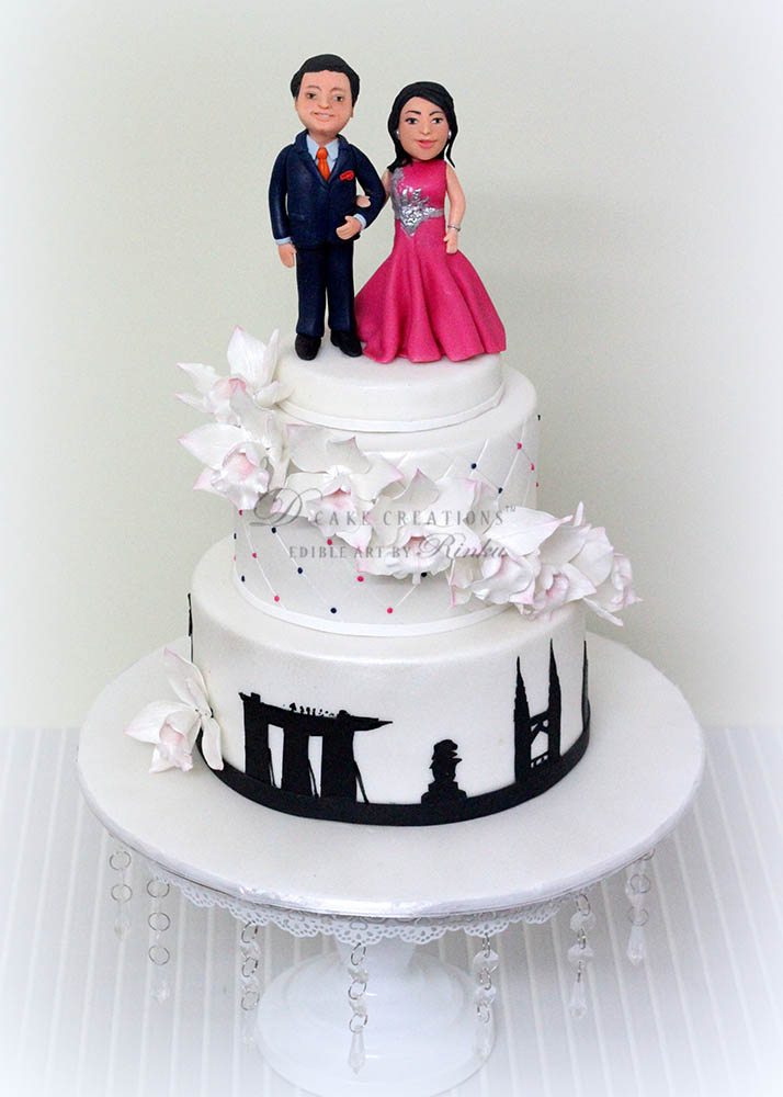 Decorating Ideas > Engagement Cakes  D Cake Creations ~ 001710_Cake Design Ideas For Engagement