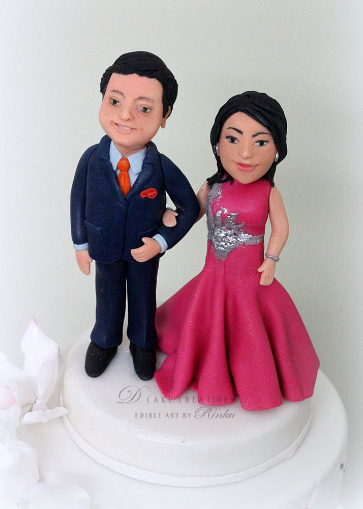 Personalised Engagement Cake