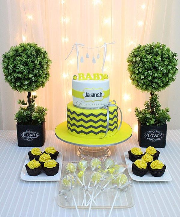 White & Yellow Cake