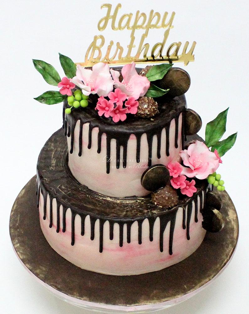 Choco Dripping Cake