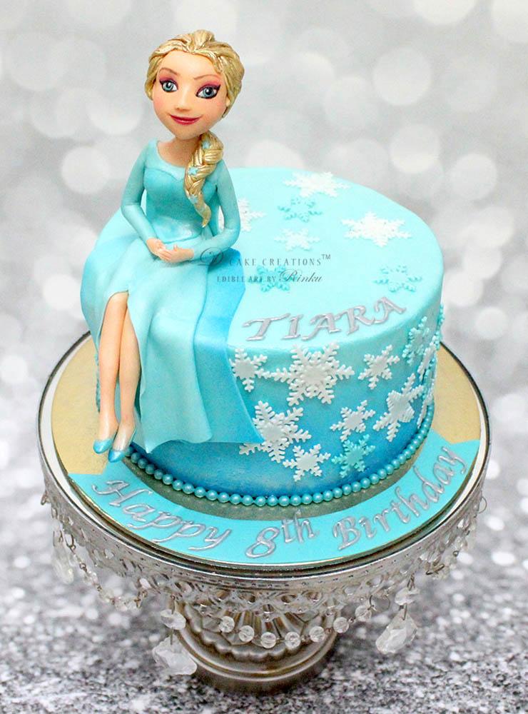 Princess Elsa Topper Cake