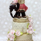 Indian Elephant Wedding Cake