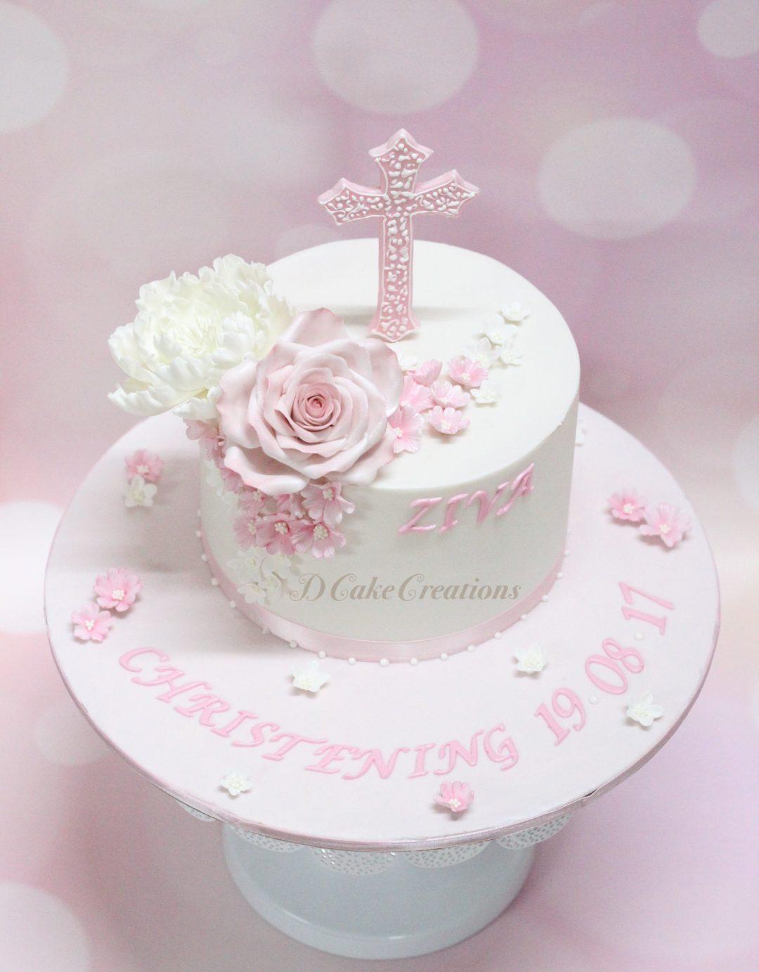 Ziva's Christening Cake