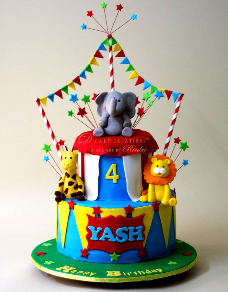 Carnival Theme Cake