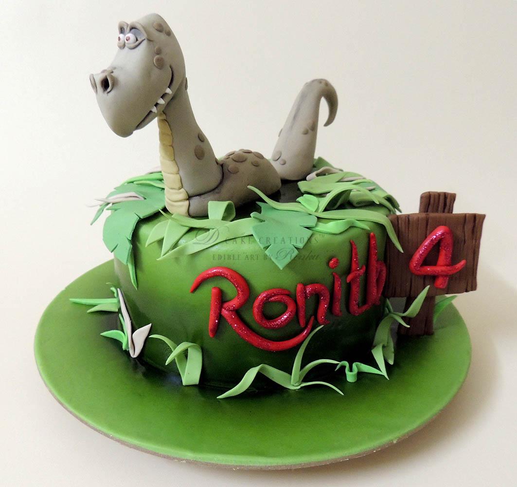 3D Dino Cake