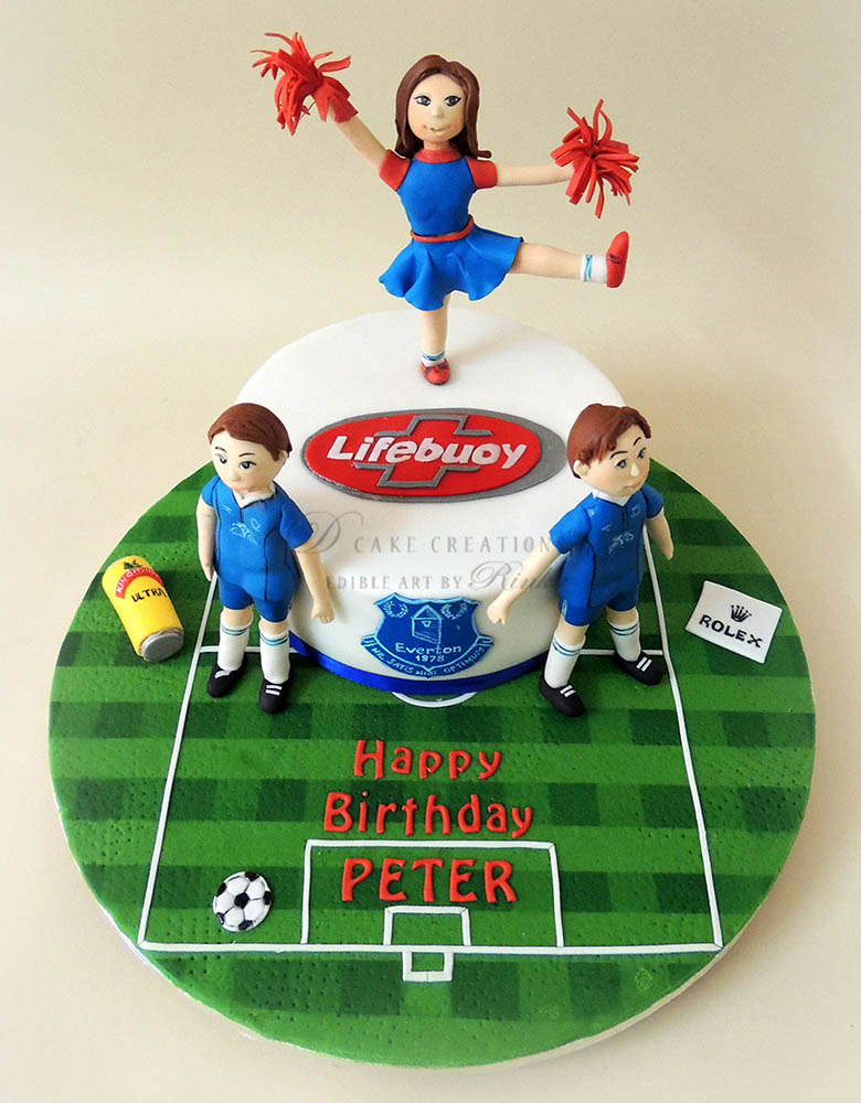Cake for a Soccer Fan