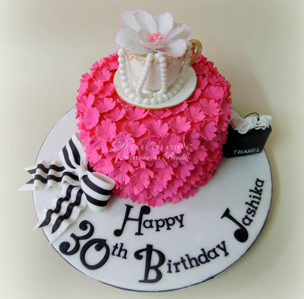 High Tea Party Cake