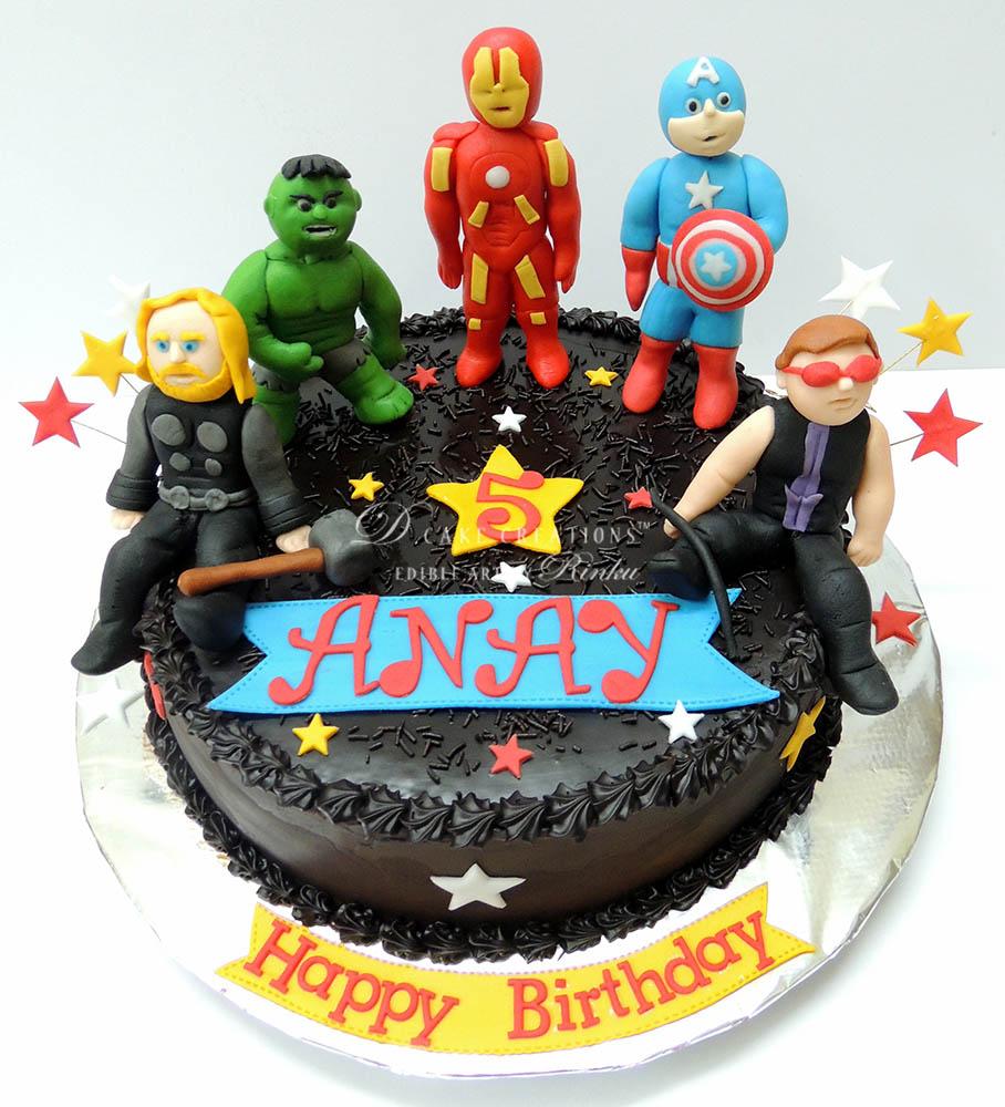 Avenger Choco Cake
