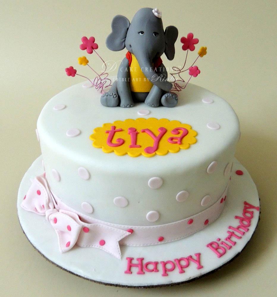 Lady Elephant Cake