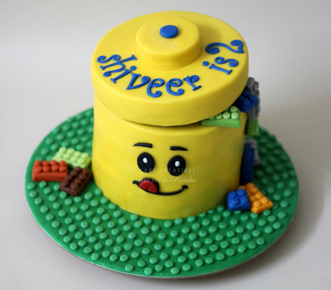 Small Lego Cake