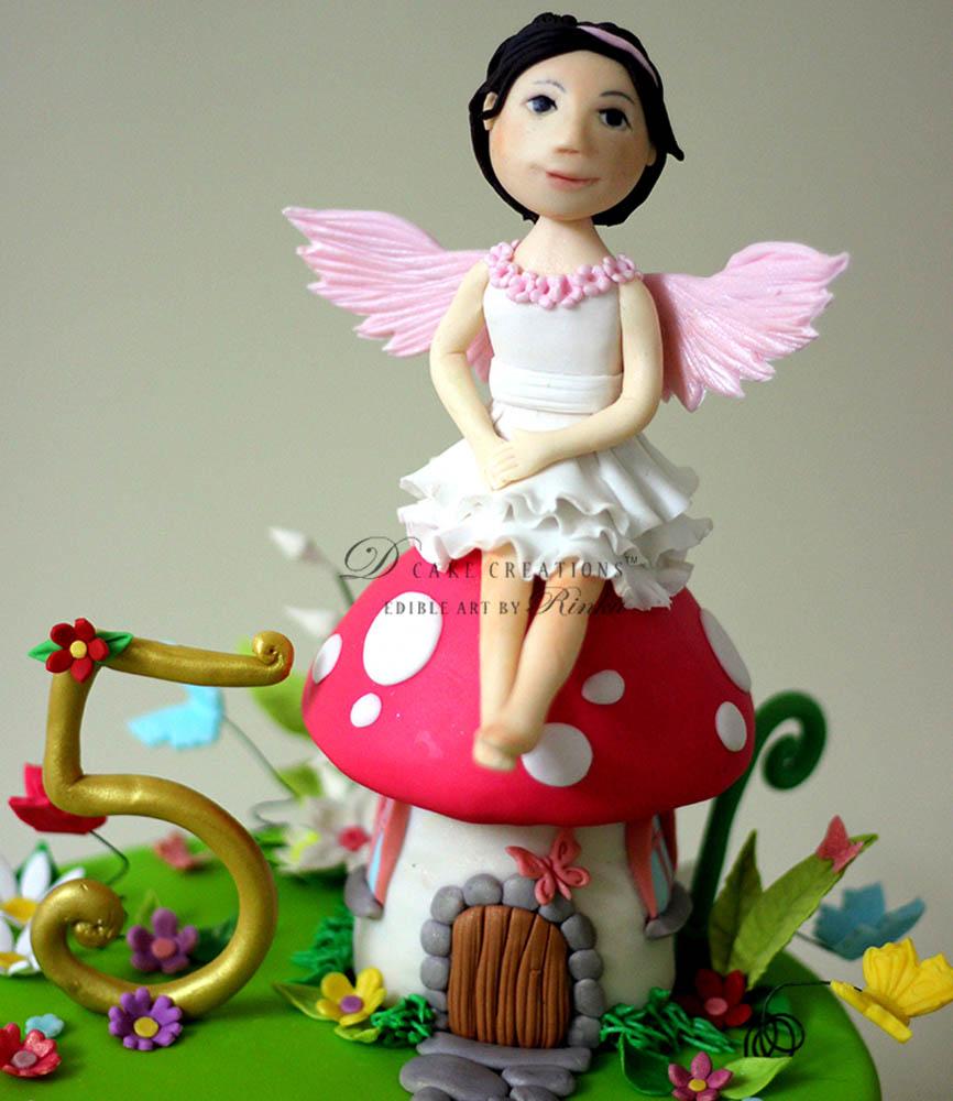 Mushroom House Cake