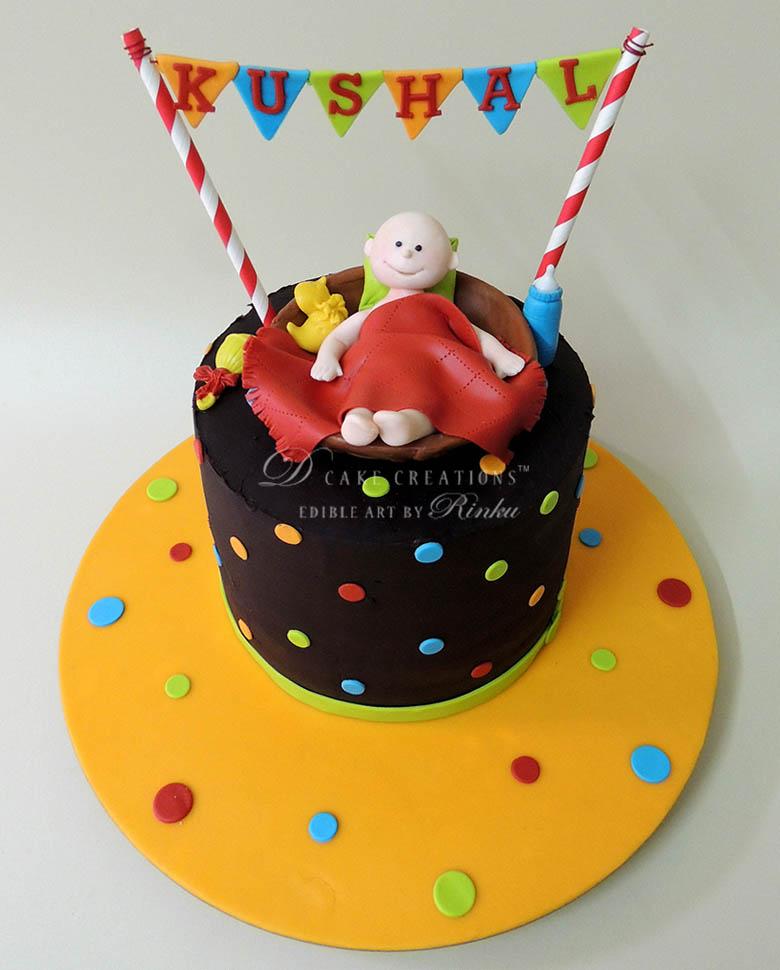 Baby Topper Cake