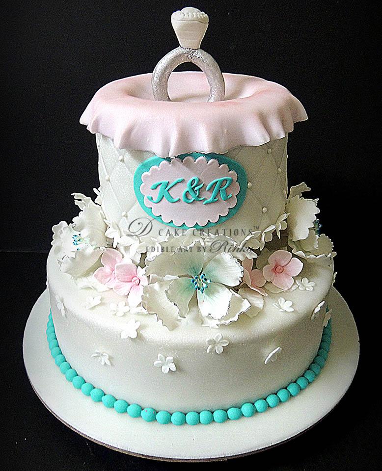 Ring Topper Cake