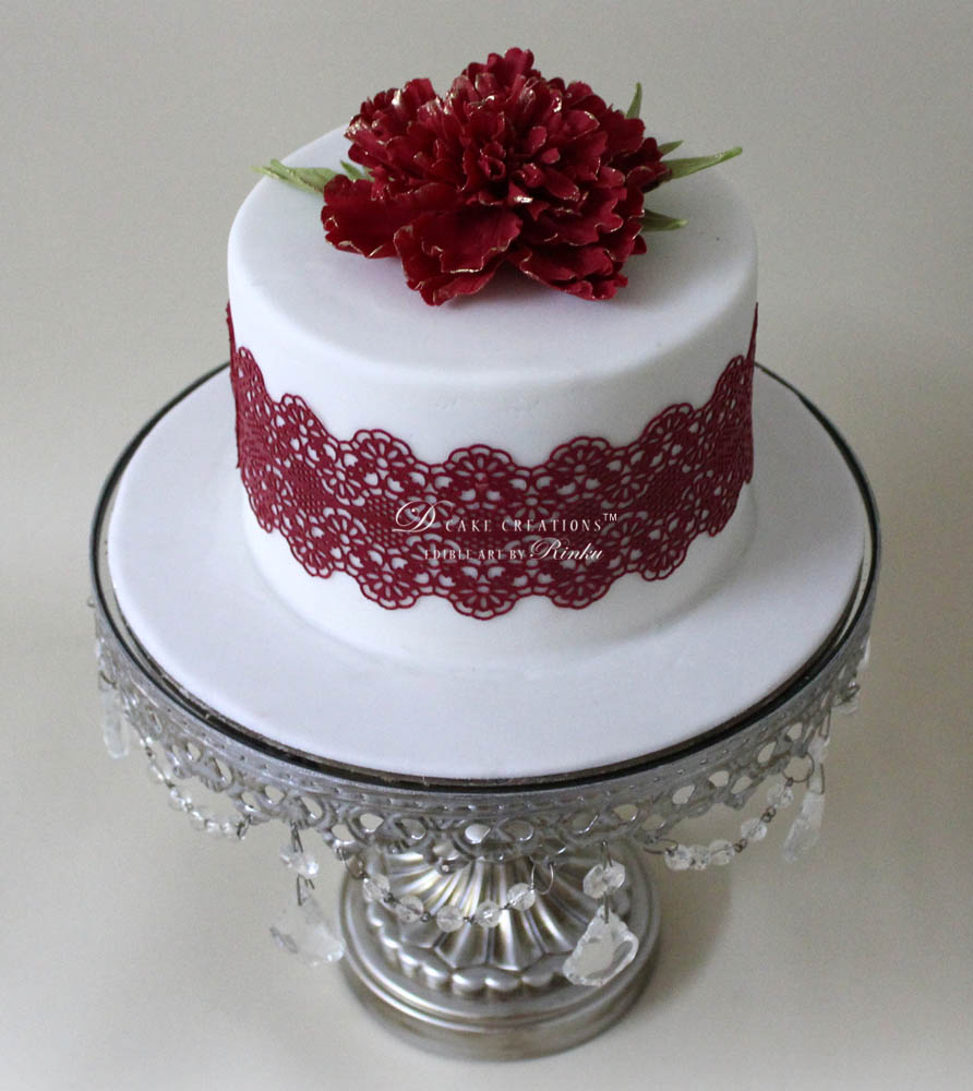 Ruby Red Cake
