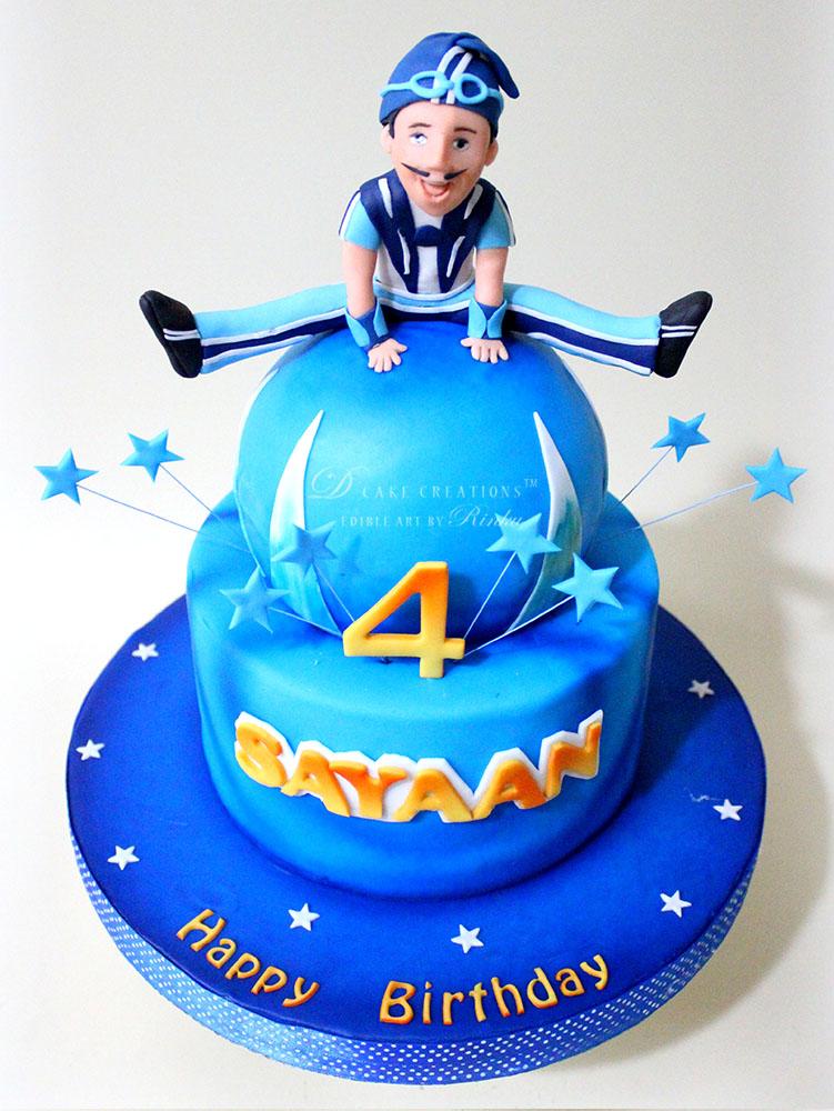 Sportacus Cake