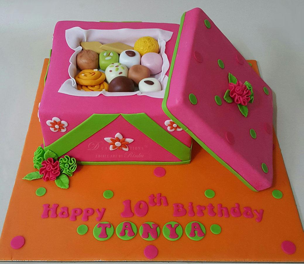 Sweet Box Cake