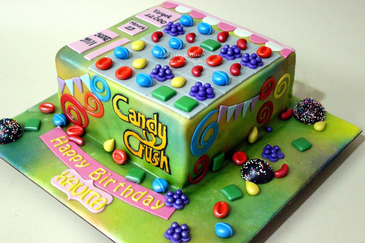 Candy Crush‬ Cake