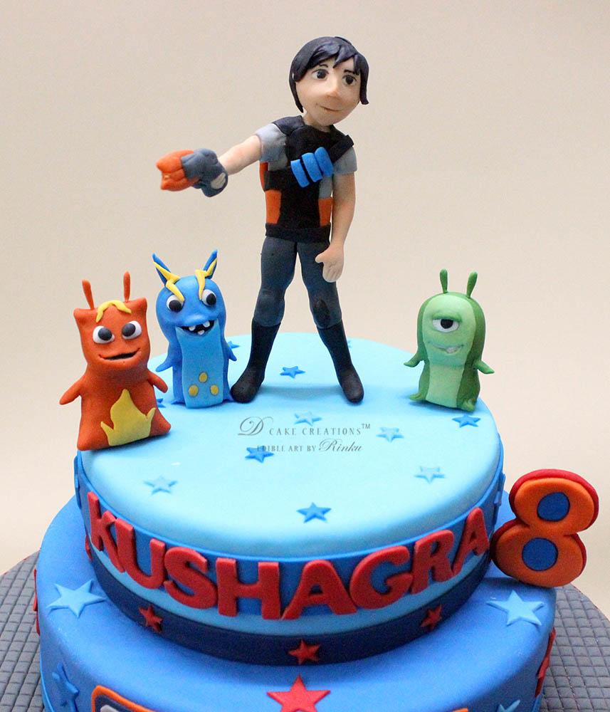 Slugterra Theme Cake