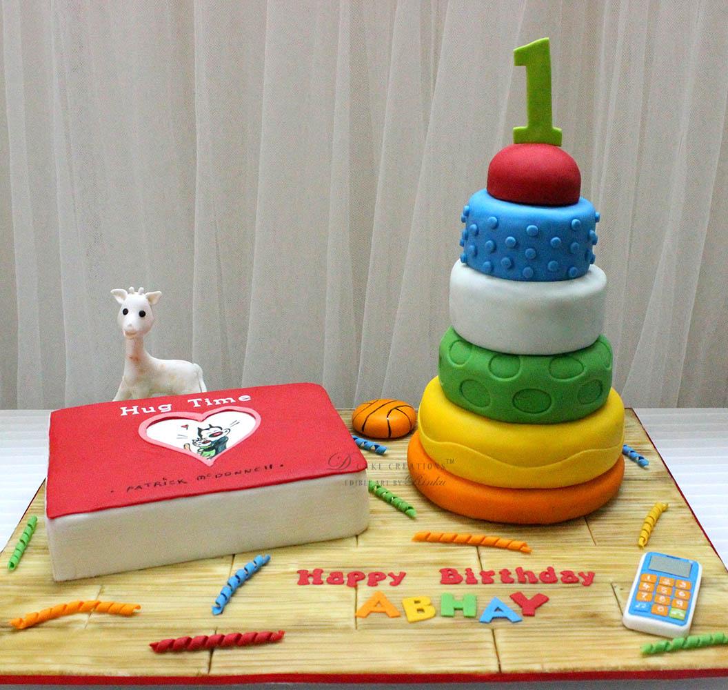 Favorite Toys Cake