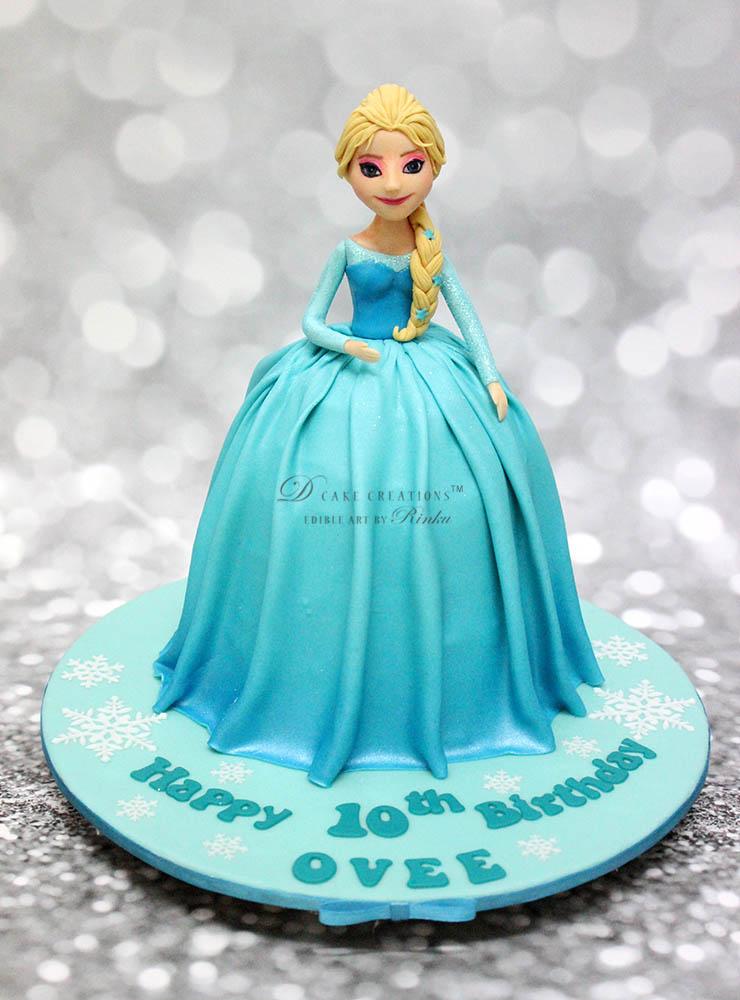 Princess Elsa Cake