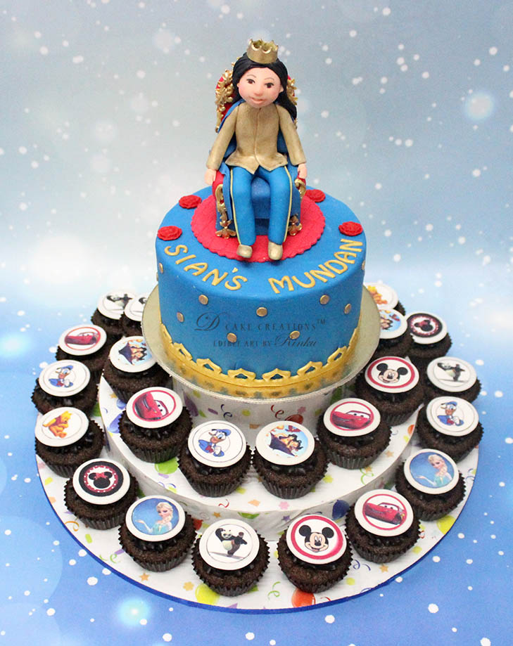 Mundan Cake